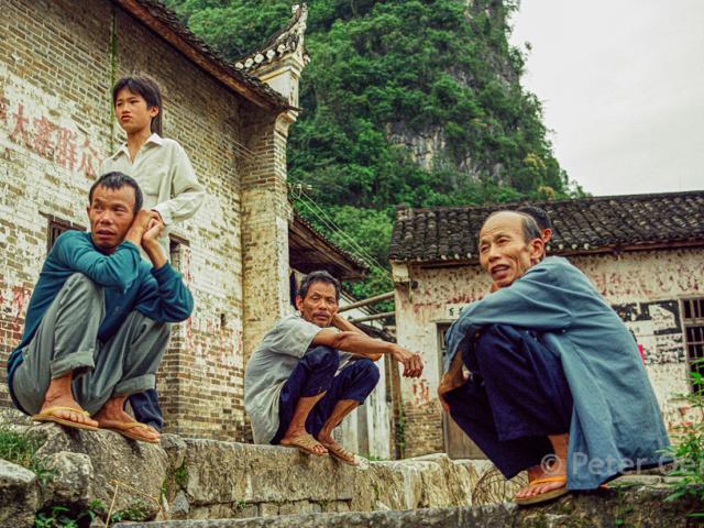 china 1999 _villagers