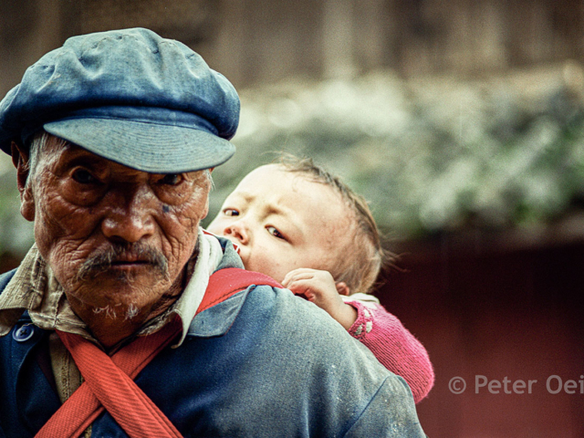 china 1999_elderly man with baby