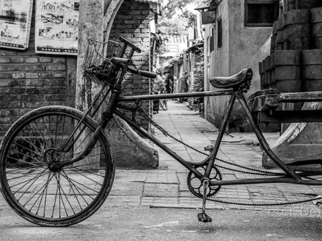 china 1999_bycicle hutong