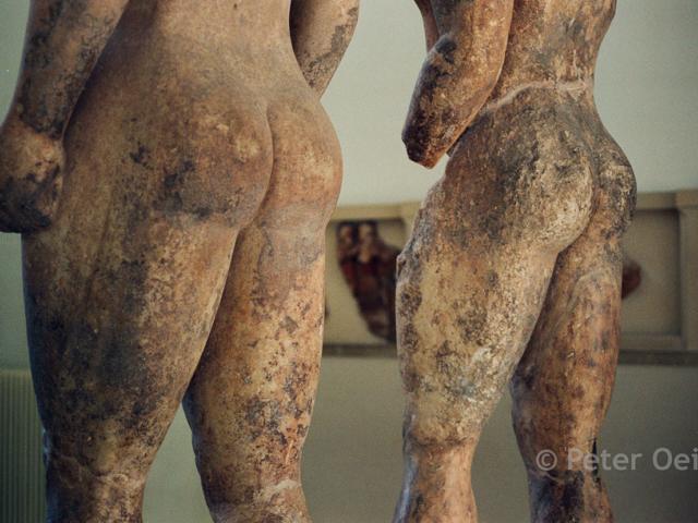 greece - 1991_statues museum peloponnessos