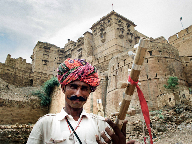 india - 2001_man musician
