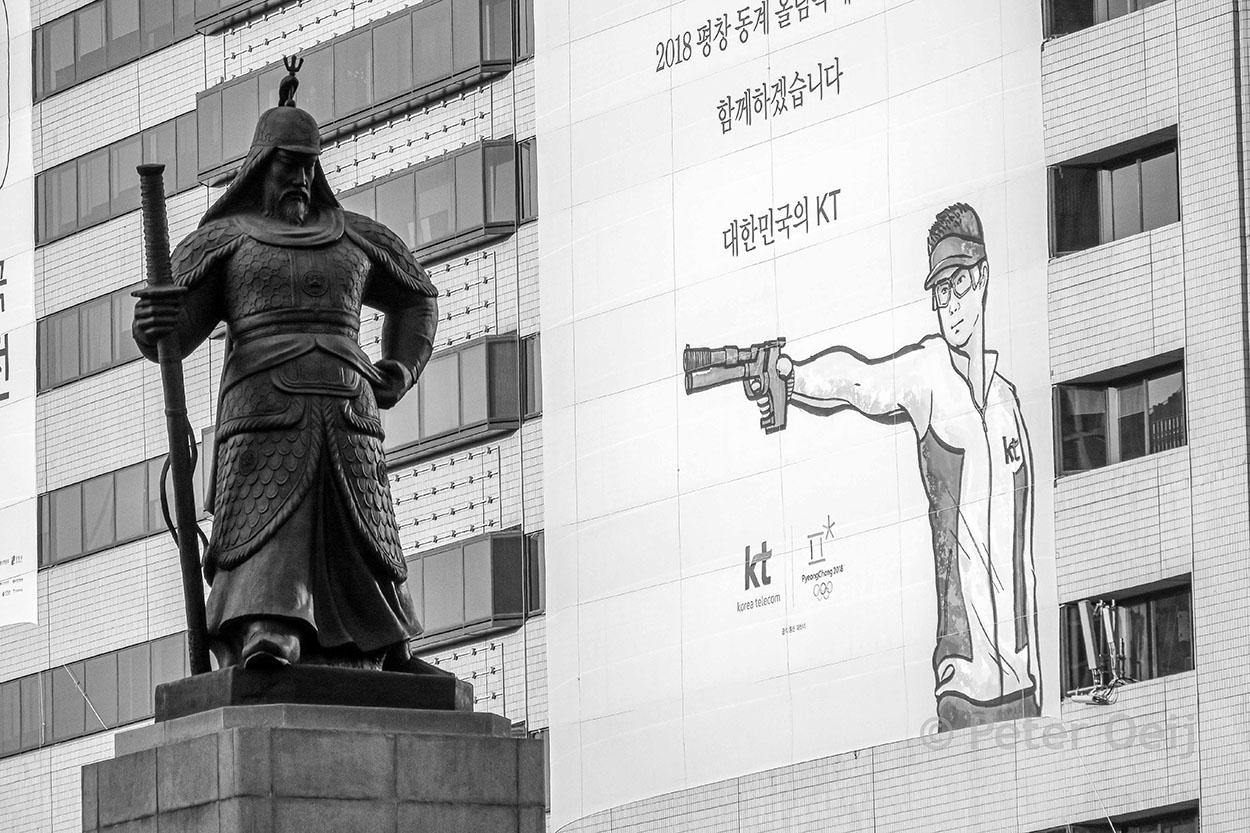 s-korea 2016_seoul centre statue