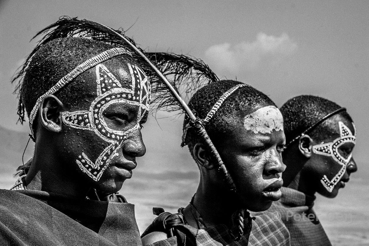 tanzania - 2012_warrior painting